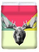 Party Moose Duvet Cover