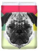 Party Pug Duvet Cover