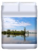 Pasquotank River North Carolina Duvet Cover