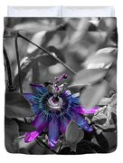 Passion Flower Only Duvet Cover