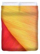 Pastel Curve  Duvet Cover