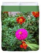Pastel Wild Flowers Duvet Cover