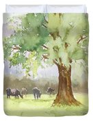 Peaceful Day Duvet Cover