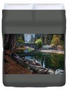 Peaceful Yosemite Duvet Cover