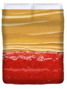 Peanut Butter And Jelly Duvet Cover