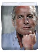 Pensive Paul Duvet Cover