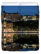 Perfect Sodermalm Blue Hour Reflection Duvet Cover