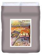 Peru Duvet Cover