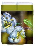 Photinia Spring Duvet Cover