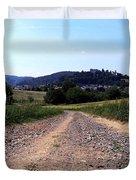 Photography Landscape Shot Of A Path Duvet Cover