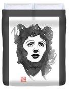 Piaf Duvet Cover
