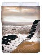 Piano Fantasy Duvet Cover