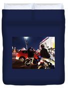 Picture Of Picture Taker Duvet Cover