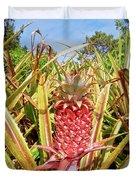 Pineapple Plant Ananas Pico Island Azores Portugal Duvet Cover