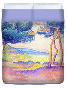 Pines Along The Shore - Digital Remastered Edition Duvet Cover
