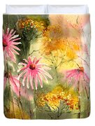 Pink And Gold Duvet Cover