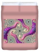 Pink Choreography Duvet Cover