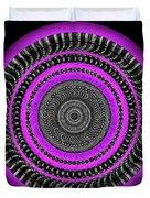 Pink Eye Duvet Cover by Visual Artist Frank Bonilla