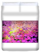 Pink Lily's Duvet Cover