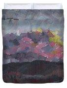 Pink Sky Delight Duvet Cover
