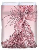 Pink Sussurus Duvet Cover