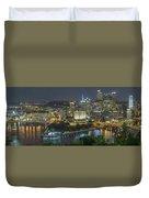 Pittsburgh Lights Duvet Cover