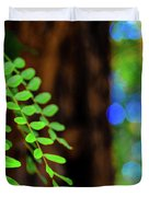Plants, Trees And Flowers Duvet Cover