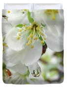 Plum Blossoms 2 Duvet Cover