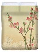 Plum Or Cherry Blossom Duvet Cover