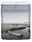 Point Arena Beach California Duvet Cover