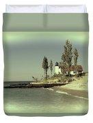 Point Betsie Lighthouse 2 Duvet Cover