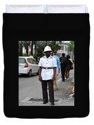 Police Officer Duvet Cover