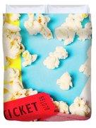 Popcorn Culture Duvet Cover