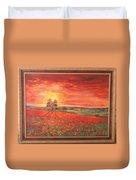 Poppy Field Duvet Cover