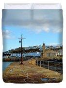 Porthleven Cornwall Duvet Cover