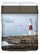 Portland Bill Duvet Cover