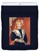 Portrait De Jean Renoir Duvet Cover
