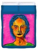 Portrait Of A Woman 1139 Duvet Cover