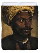Portrait Of An Arab Duvet Cover