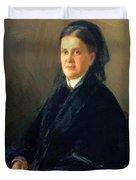 Portrait Of Anna Olsufyeva Duvet Cover