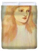 Portrait Of Cecily Horner Duvet Cover