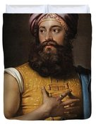Portrait Of Giovanni Belzoni Duvet Cover