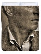 Portrait Of Ludwig Wittgenstein, 1947 Duvet Cover