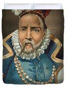 Portrait Of Tycho Brahe Duvet Cover
