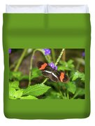 Postman Butterfly 1 Duvet Cover by Dawn Richards