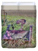 Potatoe Planter Duvet Cover