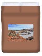 Prescott Arizona Watson Lake Rocks, Hills Water Sky Clouds 3122019 4870 Duvet Cover