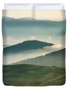 Pretty Morning In Toscany Duvet Cover