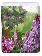 Print Duvet Cover by Clint Hansen