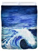 Promethea Ocean Triptych 1 Duvet Cover
